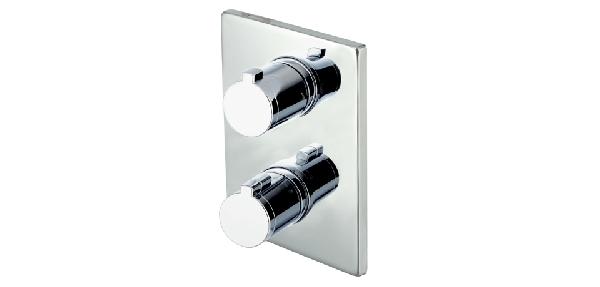 Wellis Divido falba építhető termosztátos zuhany csaptelep