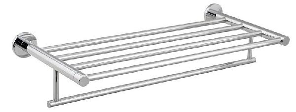 SAMBA törölközőtartó polc, 50cm, króm (SB114)