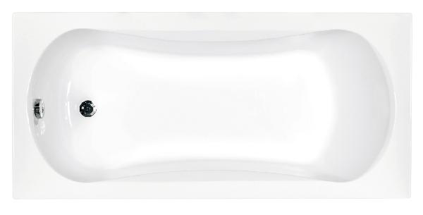Besco Aria 140x70 akril egyenes kád