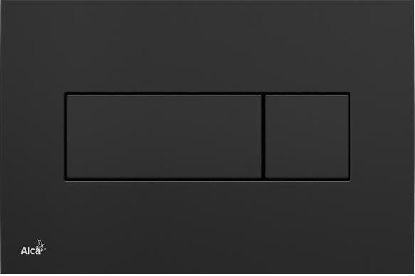 Alcaplast M378 fekete-fényes nyomógomb