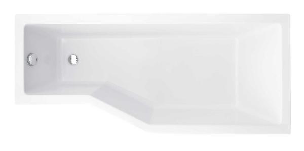 Besco Integra 150x75 akril jobbos asszimetrikus kád