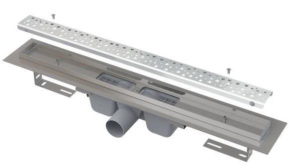Alcaplast APZ11-950L Antivandal zuhanyfolyóka ráccsal