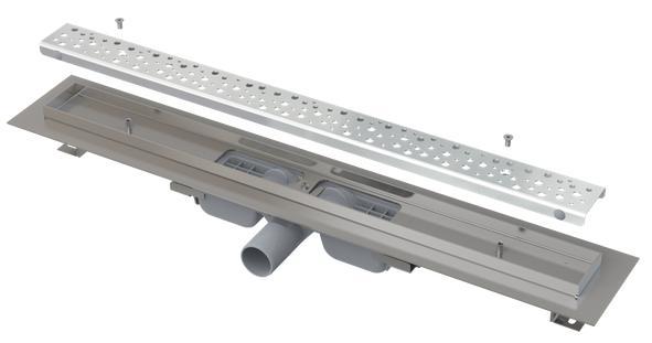 """Alcaplast APZ111-950L Antivandal Low - """"Antivandal"""" zuhanyfolyóka ráccsal"""