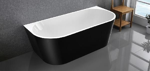 Wellis Calabria black térkád 170x80x58cm