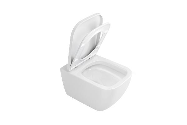 Excellent NESS Felfüggesztett WC csésze - lábazat és perem nélkül