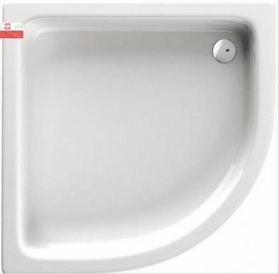 Deante STANDARD PLUS II íves zuhanytálca 80x80x26 KTU_032B