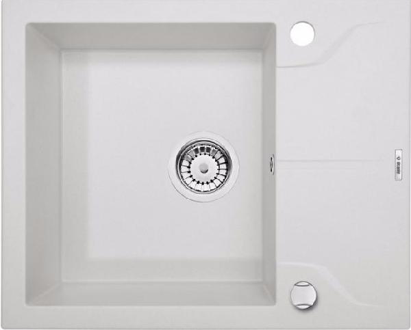 Deante Andante egy medencés mosogató rövid csepegtetővel,alabástrom