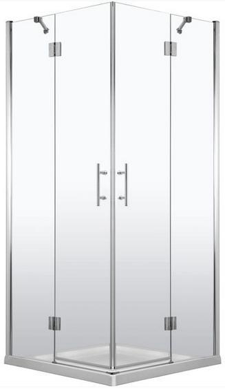 Deante ABELIA szögletes dupla nyílóajtós 90x90 zuhanykabin