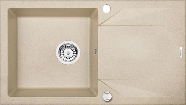 Deante Evora 1 medence + automata leeresztővel, csepegtetővel, metál grafit