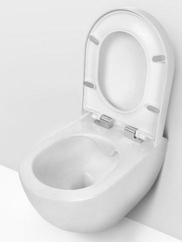 Deante PEONIA perem nélküli fali wc