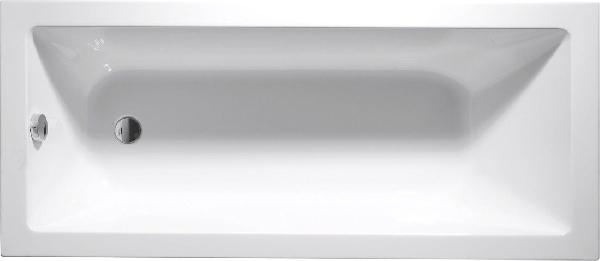 AQUALINE DOUBRAVA akril kád 170x70x42 cm, láb nélkül (A1770)