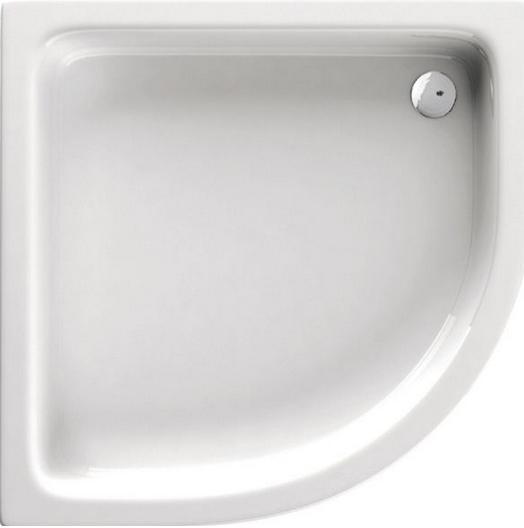 Deante STANDARD PLUS II íves zuhanytálca 90x90x26 cm