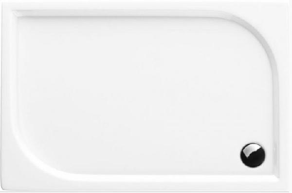 Deante CUBIC aszimmetrikus zuhanytálca 90x120x12 cm