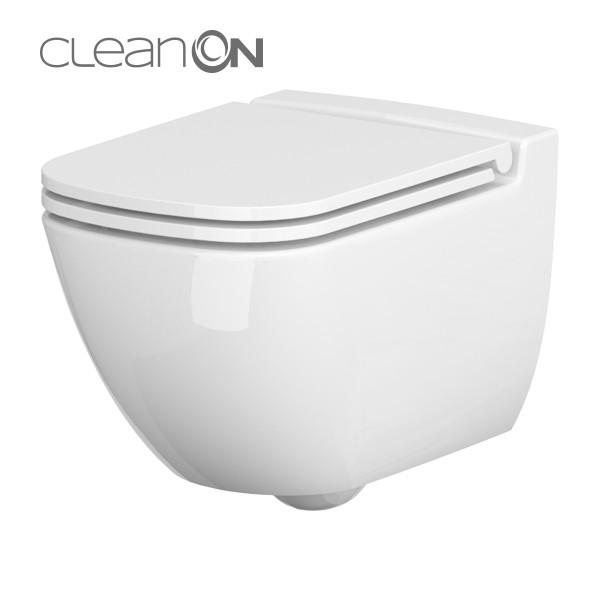 Cersanit Caspia CleanOn perem nélküli fali wc (K11-0233)