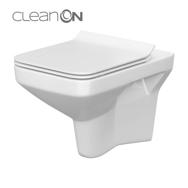 Cersanit Como CleanOn perem nélküli fali wc (K32-020)