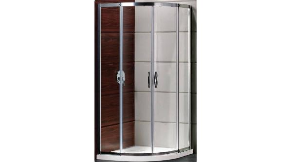 Feromix N-TONDO-PLUS 90x90x195cm íves zuhanykabin