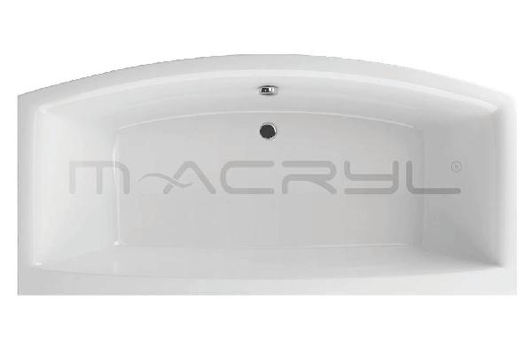 M-acryl Relax 190x90 különleges akril kád, 240l - 2 személyes kád