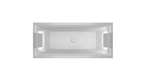 RIHO STILL SQUARE LED akrilkád 180x80cm világítás mindkét oldalon (BR0100500K00132)