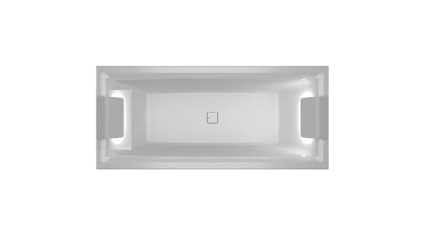 RIHO STILL SQUARE LED akrilkád 170x75cm világítás mindkét oldalon (BR0200500K00132)