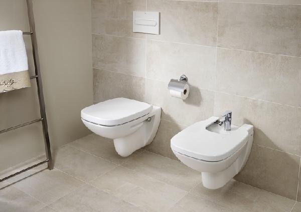 Roca Debba Rimless fali WC csésze, mélyöblítésű