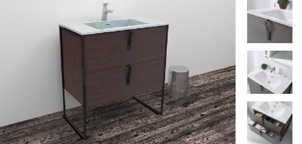 Wellis Azori lábon álló fürdőszoba bútor