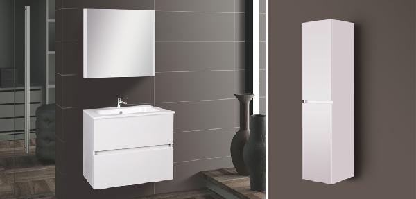 Wellis Elois 60 white függesztett fürdőszoba bútor - SZETT AKCIÓ