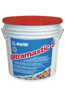 Mapei ULTRAMASTIC 5 nyújtott nyitott idejű diszperziós ragasztó falfelületek burkolásához 16 kg