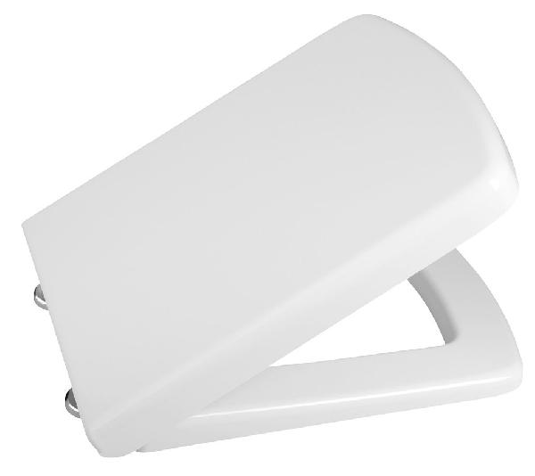 ISVEA PURITY WC-ülőke, soft close, inox pántok (40S30200I)