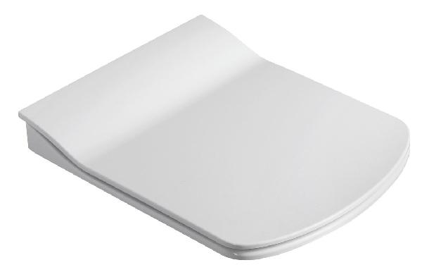 Sapho GLANC WC-ülőke, Slim soft close, duroplast, fehér (GC5030)