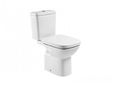 Roca Debba Porcelán monoblokkos WC, hátsó kifolyású