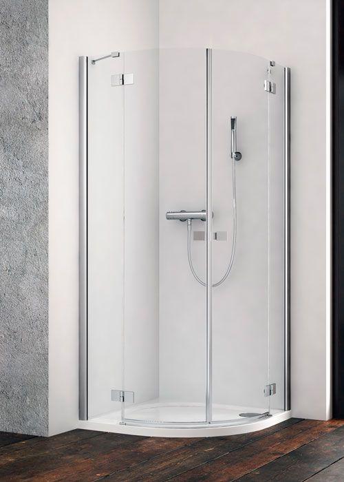 Radaway Essenza New PDD íves 90x90 zuhanykabin - kifelé nyíló ajtó