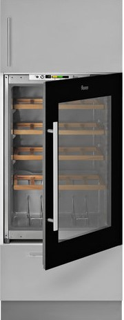 Teka RVI 35 beépíthető borhűtő - fekete üveg