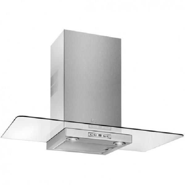 Teka DG 980 ultraslim dekoratív páraelszívó üvegernyővel (90cm) - INOX/ÜVEG