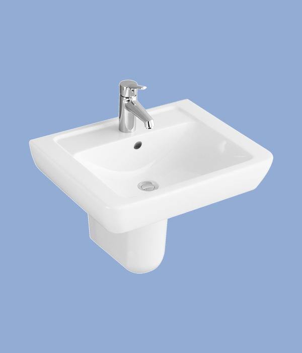 Alföldi FORMO Mosdó S 65x51cm fehér 7012 65 01
