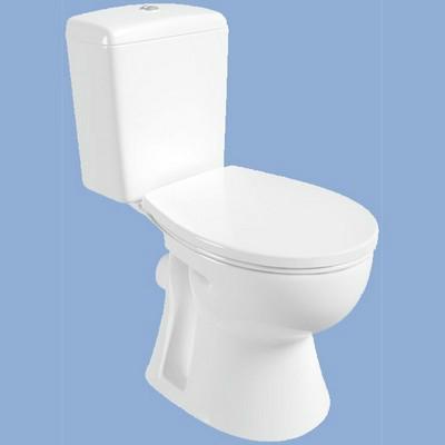 Alföldi SAVAL 2.0 mélyöblítésű monoblokkos Wc csésze, hátsó kifolyású, fehér 7092 19 01 - KÉSZLET EREJÉIG