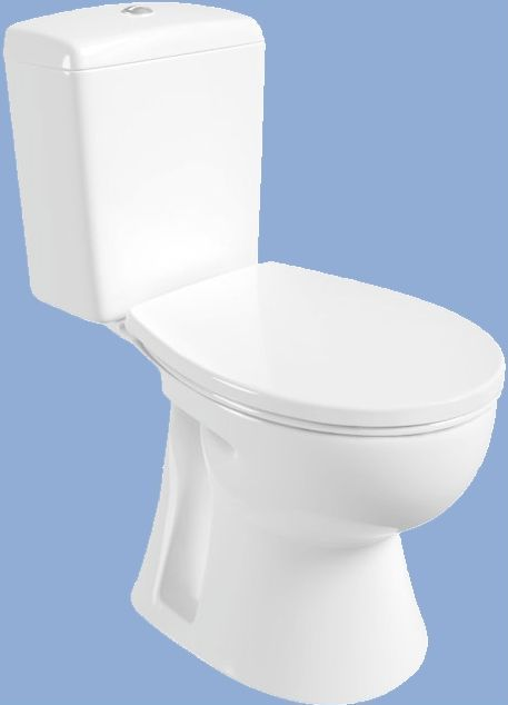 Alföldi SAVAL 2.0 mélyöblítésű monoblokkos Wc csésze, alsó kifolyású, fehér 7092 09 01