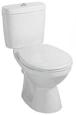 Alföldi SAVAL 2.0 mélyöblítésű monoblokkos Wc csésze, hátsó kifolyású, fehér 70990 19 01
