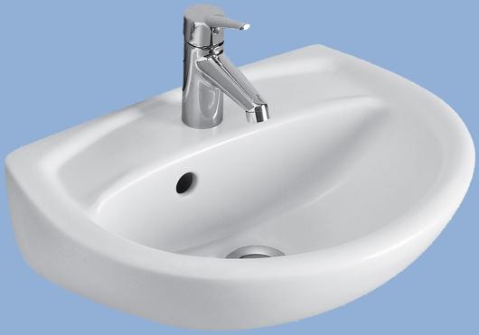 Alföldi SAVAL 2.0 45x35cm kézmosó fehér 7030 45 01
