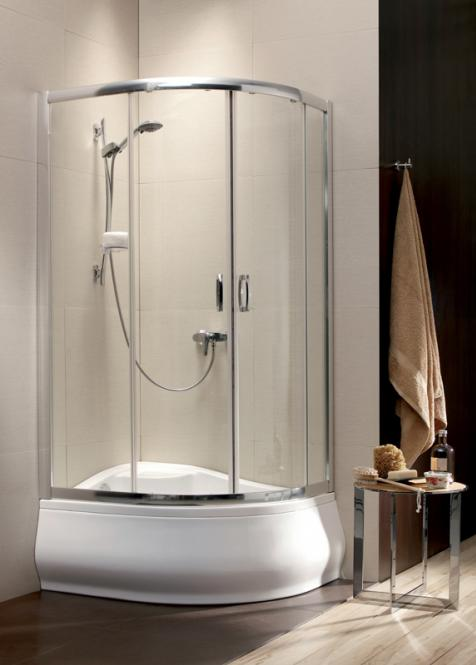 Radaway Premium Plus E1700 íves zuhanykabin 80x100