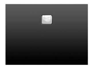Riho Basel Black 404 matt fekete 80x100 akril zuhanytálca DC14170