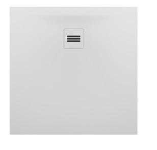 Riho Velvet Sole fehér 80x80 solid surface zuhanytálca DN10