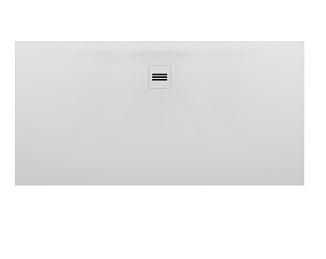 Riho Velvet Sole fehér 90x180 solid surface zuhanytálca DN32