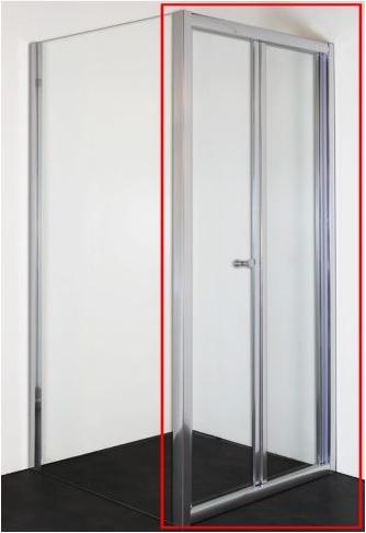 Sanotechnik ELITE csuklóajtó 80 cm króm