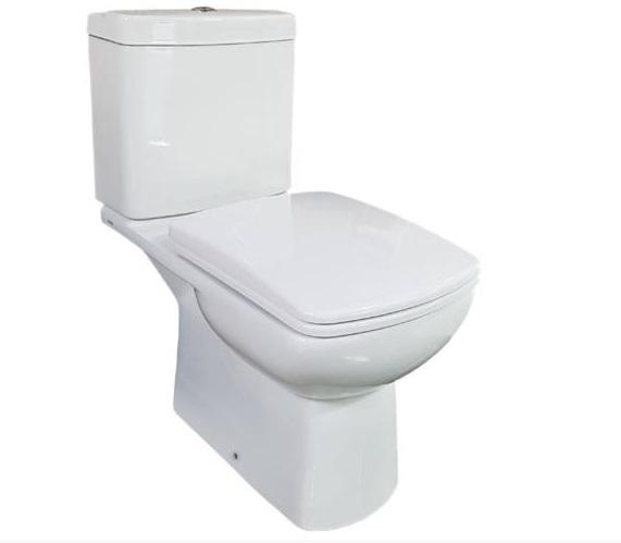 Feromix Quadro New alsó kifolyású monoblokkos WC csésze Q-C201NC/LT