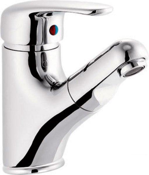 Sapho AQUALINE KASIOPEA mosdócsaptelep kihúzható zuhanyfejjel 31cm-ig, króm (1107-05)