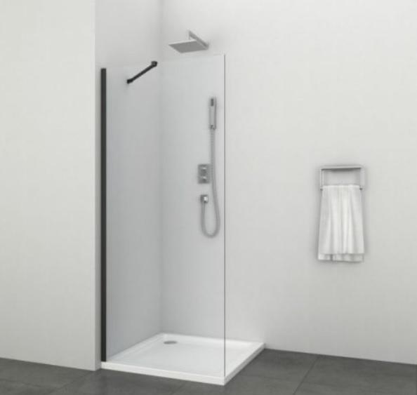 Sanotechnik ELITE BLACK 2 zuhanyfal, 80 cm