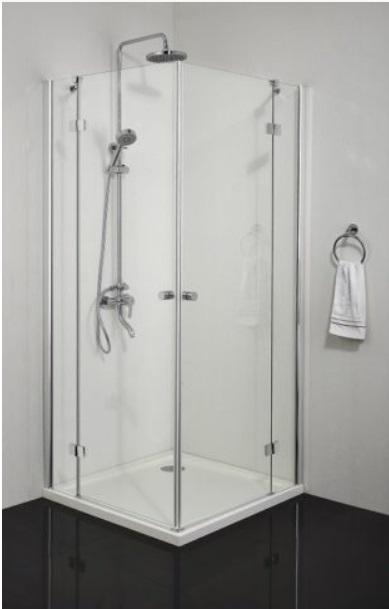 Sanotechnik SIMPLYFLEX zuhanyfülke ajtó 90 cm, króm