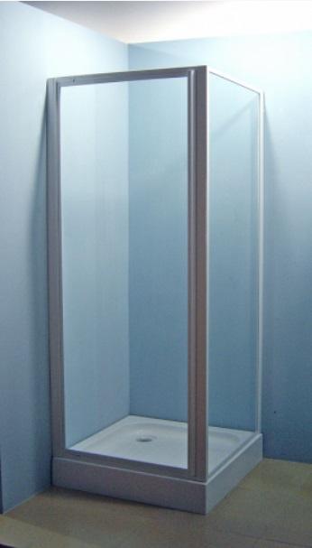 Sanotechnik Zuhanyfülke ajtó 90 cm, fehér