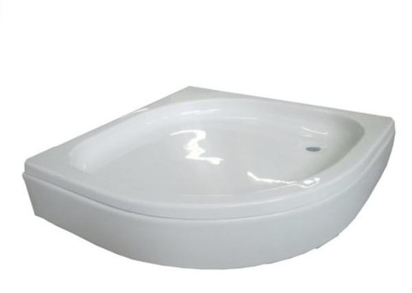 Sanotechnik BORA íves akril zuhanytálca 80 cm GRS80