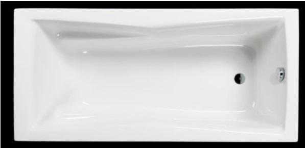 Sanotechnik VIENNA 170 testformájú fürdőkád